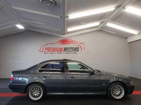 2001 BMW 5 Series for sale at Premium Motors in Villa Park IL