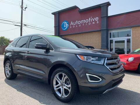 2015 Ford Edge for sale at Automotive Solutions in Louisville KY