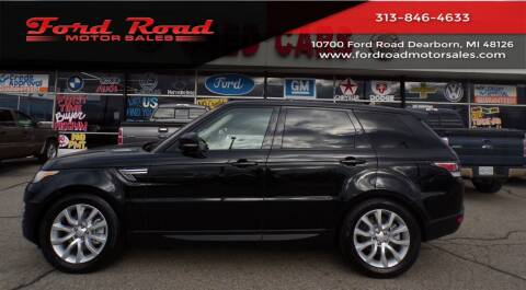 2016 Land Rover Range Rover Sport for sale at Ford Road Motor Sales in Dearborn MI