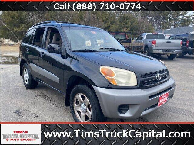 2005 Toyota RAV4 for sale at TTC AUTO OUTLET/TIM'S TRUCK CAPITAL & AUTO SALES INC ANNEX in Epsom NH
