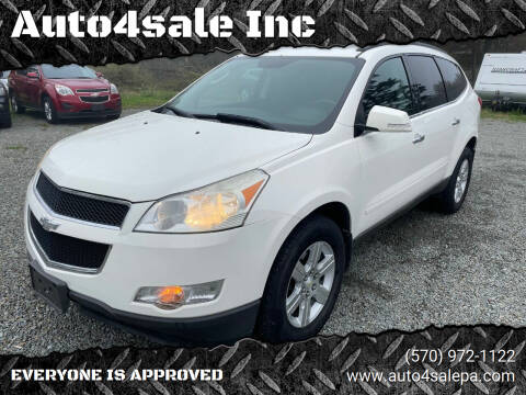 2011 Chevrolet Traverse for sale at Auto4sale Inc in Mount Pocono PA