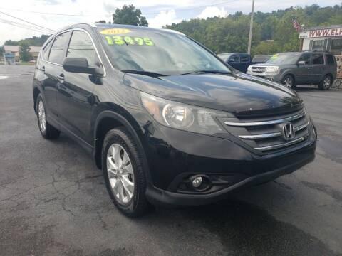 2012 Honda CR-V for sale at Elk Avenue Auto Brokers in Elizabethton TN