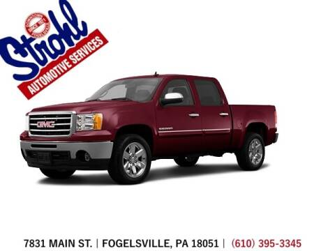 2013 GMC Sierra 1500 for sale at Strohl Automotive Services in Fogelsville PA
