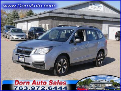 2018 Subaru Forester for sale at Jim Dorn Auto Sales in Delano MN
