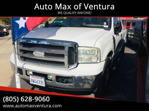 2007 Ford F-250 Super Duty for sale at Auto Max of Ventura in Ventura CA