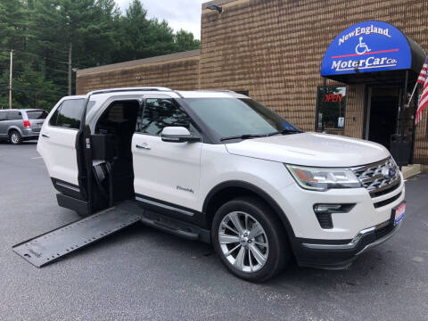 2019 Ford Explorer for sale at New England Motor Car Company in Hudson NH