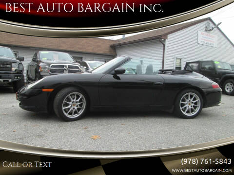 2003 Porsche 911 for sale at BEST AUTO BARGAIN inc. in Lowell MA