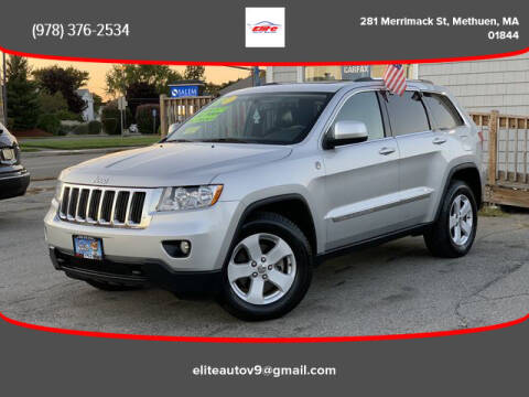 2011 Jeep Grand Cherokee for sale at ELITE AUTO SALES, INC in Methuen MA