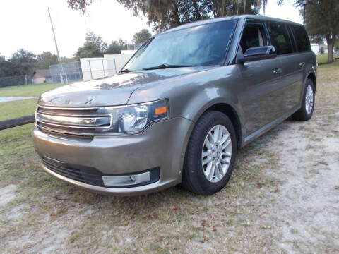 2014 Ford Flex for sale at LANCASTER'S AUTO SALES INC in Fruitland Park FL