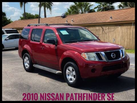 2010 Nissan Pathfinder for sale at ASTRO MOTORS in Houston TX