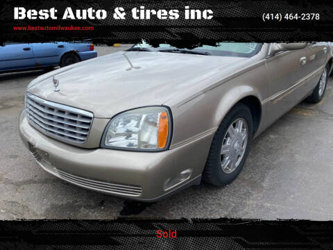2004 Cadillac DeVille for sale at Best Auto & tires inc in Milwaukee WI