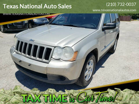 2010 Jeep Grand Cherokee for sale at Texas National Auto Sales in San Antonio TX
