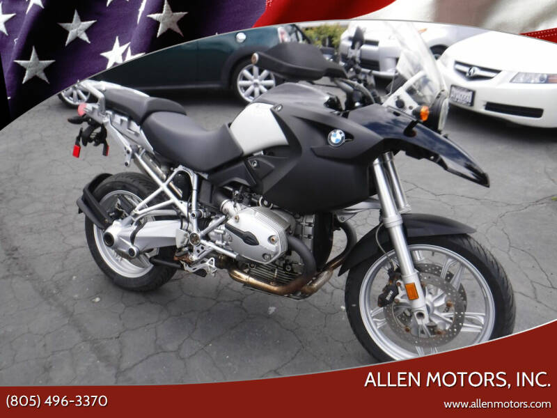 2007 BMW R 1200 GS for sale at Allen Motors, Inc. in Thousand Oaks CA