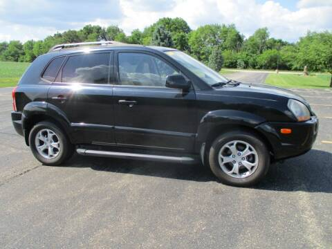 2009 Hyundai Tucson for sale at Crossroads Used Cars Inc. in Tremont IL