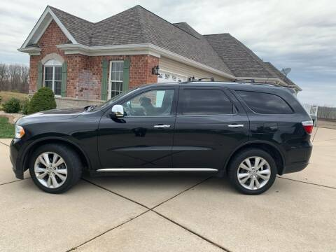 2012 Dodge Durango for sale at Revolution Motors LLC in Wentzville MO