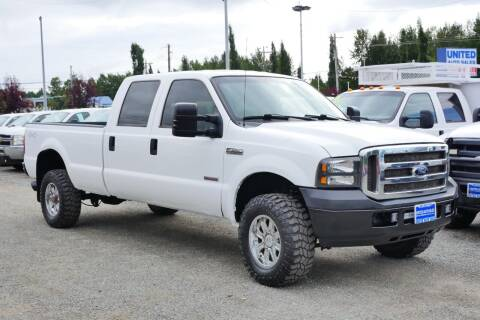 2007 Ford F-350 Super Duty for sale at United Auto Sales in Anchorage AK