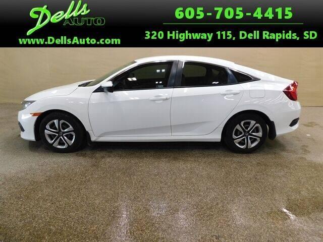 2018 Honda Civic for sale at Dells Auto in Dell Rapids SD