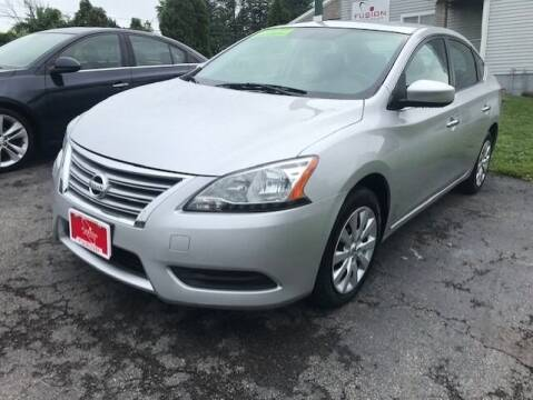2015 Nissan Sentra for sale at FUSION AUTO SALES in Spencerport NY