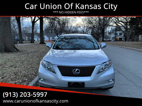 2010 Lexus RX 350 for sale at Car Union Of Kansas City in Kansas City MO
