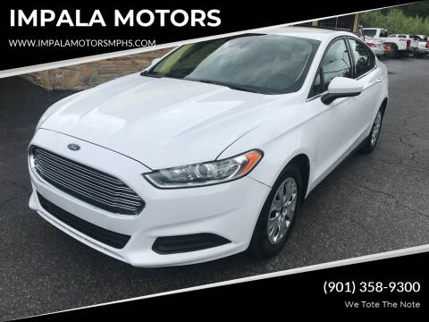 2020 Ford Fusion for sale at IMPALA MOTORS in Memphis TN