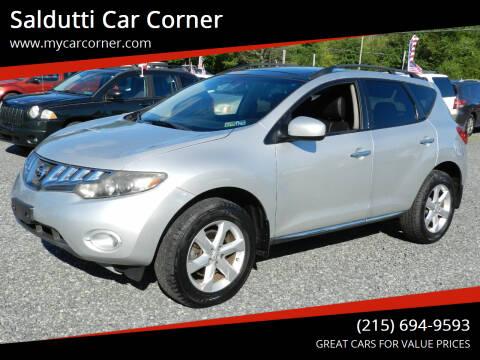 2009 Nissan Murano for sale at Saldutti Car Corner in Gilbertsville PA