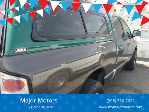 2003 Dodge Ram Pickup 1500 for sale at Major Motors in Twin Falls ID