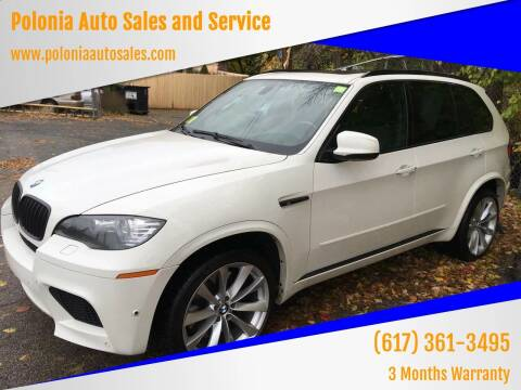 2012 BMW X5 M for sale at Polonia Auto Sales and Service in Hyde Park MA