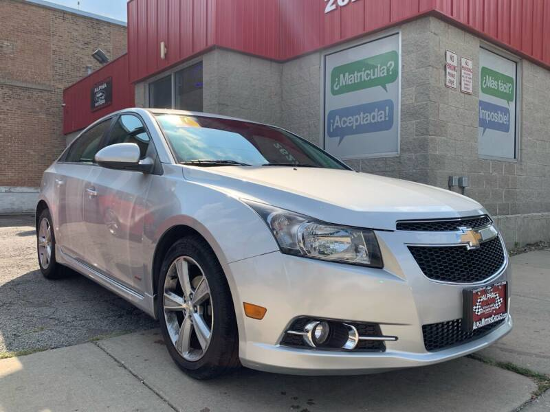 2014 Chevrolet Cruze for sale at Alpha Motors in Chicago IL