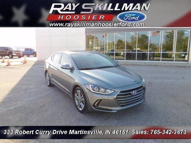 2017 Hyundai Elantra for sale at Ray Skillman Hoosier Ford in Martinsville IN