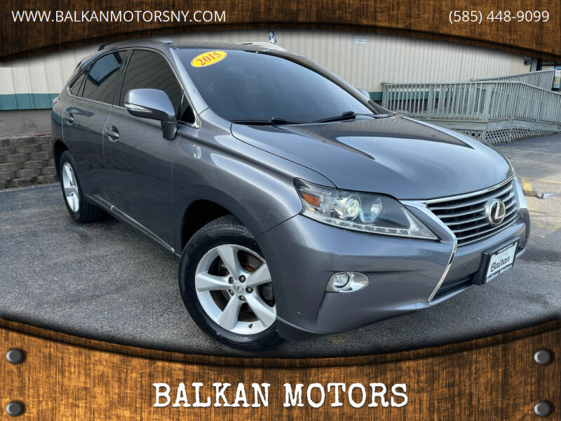 2015 Lexus RX 350 for sale at BALKAN MOTORS in East Rochester NY