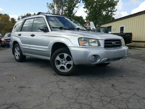 2004 Subaru Forester for sale at GLOVECARS.COM LLC in Johnstown NY