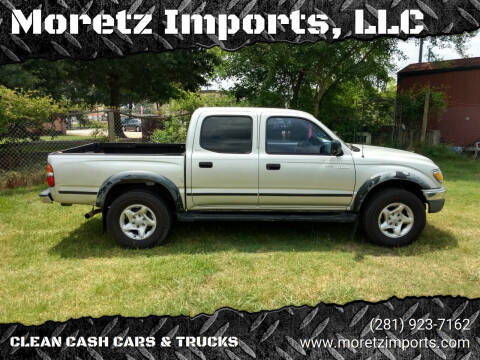 2001 Toyota Tacoma for sale at Moretz Imports, LLC in Spring TX