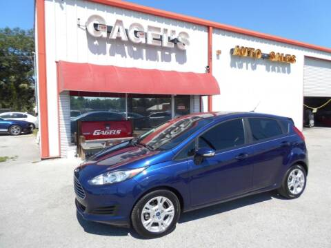 2016 Ford Fiesta for sale at Gagel's Auto Sales in Gibsonton FL