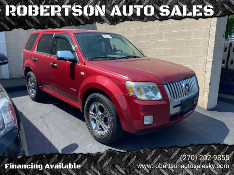 2008 Mercury Mariner for sale at ROBERTSON AUTO SALES in Bowling Green KY