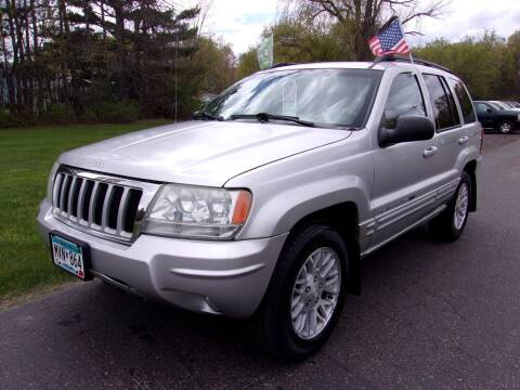 2004 Jeep Grand Cherokee for sale at American Auto Sales in Forest Lake MN