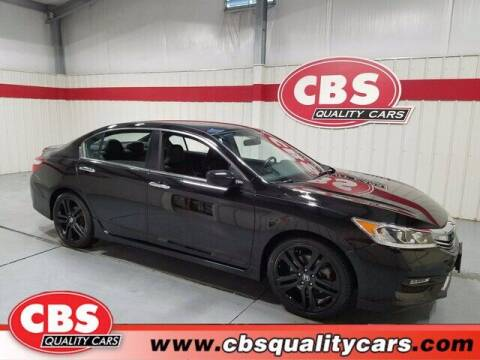 2016 Honda Accord for sale at CBS Quality Cars in Durham NC