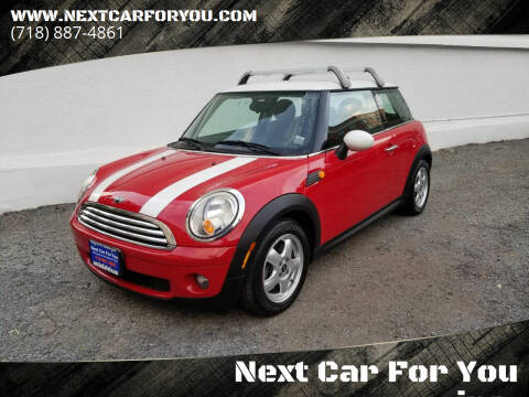 2009 MINI Cooper for sale at Next Car For You inc. in Brooklyn NY