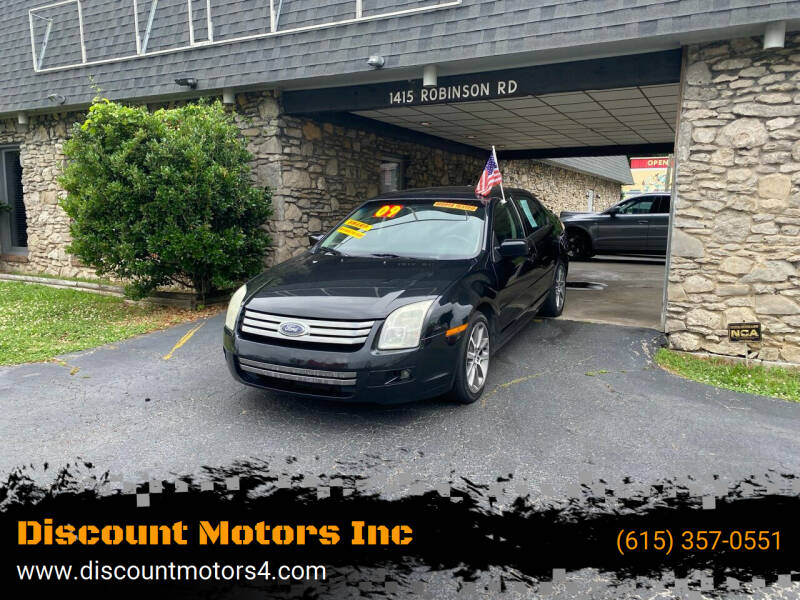 2009 Ford Fusion for sale at Discount Motors Inc in Old Hickory TN