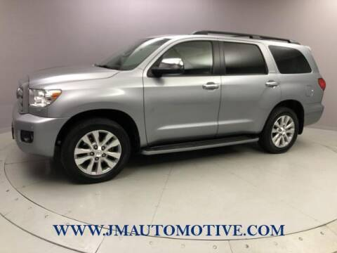 2012 Toyota Sequoia for sale at J & M Automotive in Naugatuck CT