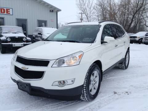 2012 Chevrolet Traverse for sale at Steves Auto Sales in Cambridge MN
