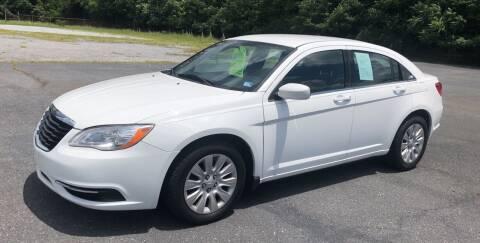 2012 Chrysler 200 for sale at Augusta Auto Sales in Waynesboro VA