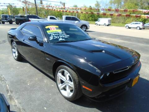 2018 Dodge Challenger for sale at River City Auto Sales in Cottage Hills IL