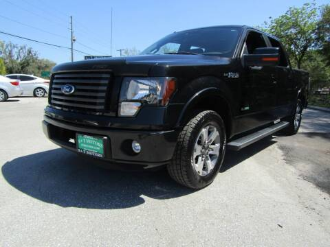 2012 Ford F-150 for sale at S & T Motors in Hernando FL
