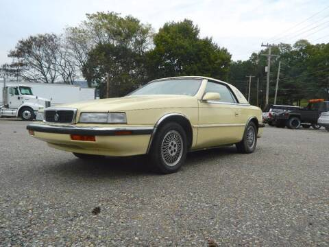 1991 Chrysler TC for sale at Recovery Team USA in Slatington PA