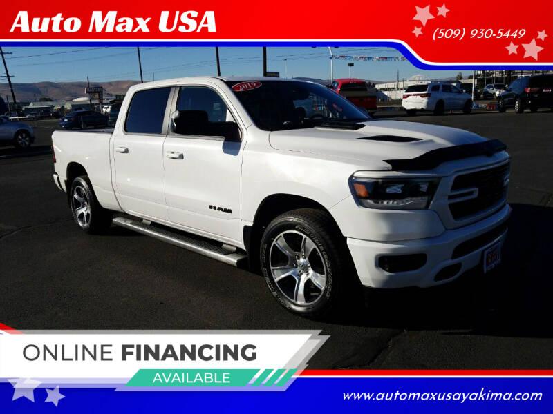 2019 RAM Ram Pickup 1500 for sale at Auto Max USA in Yakima WA
