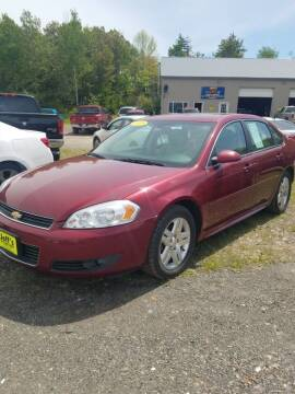 2011 Chevrolet Impala for sale at Jeff's Sales & Service in Presque Isle ME