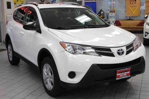 2015 Toyota RAV4 for sale at Windy City Motors in Chicago IL