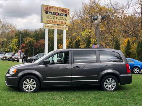 2015 Chrysler Town and Country for sale at Lafayette Motors 2 in Andover NJ