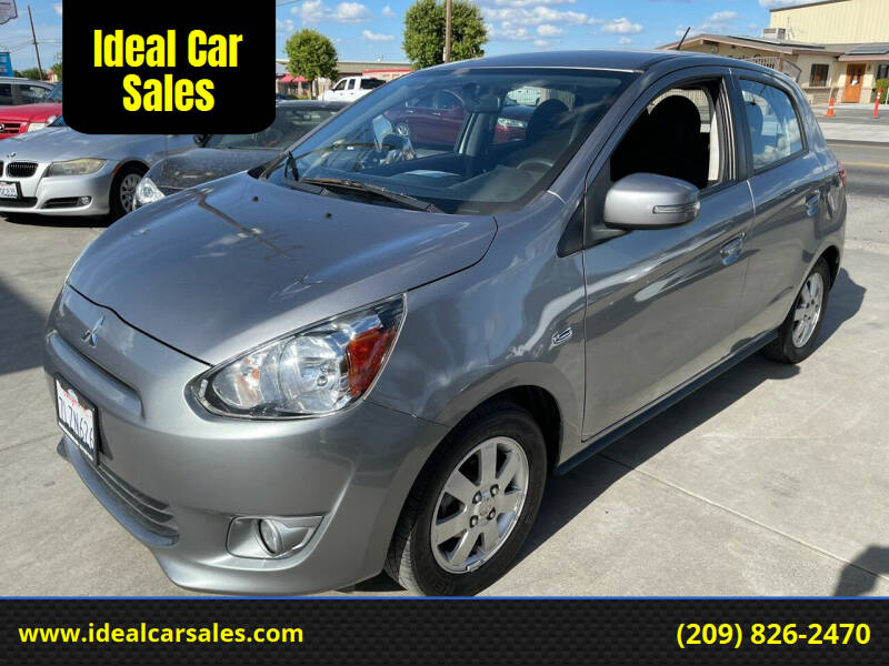 2015 Mitsubishi Mirage for sale at Ideal Car Sales in Los Banos CA