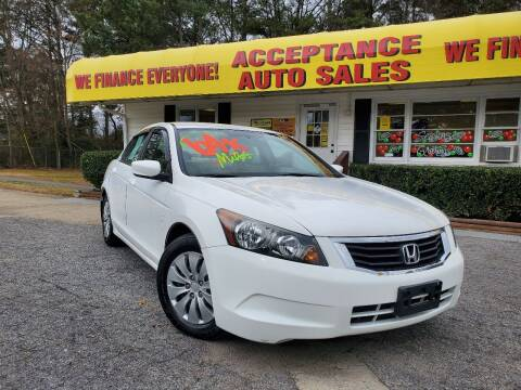 2008 Honda Accord for sale at Acceptance Auto Sales in Marietta GA